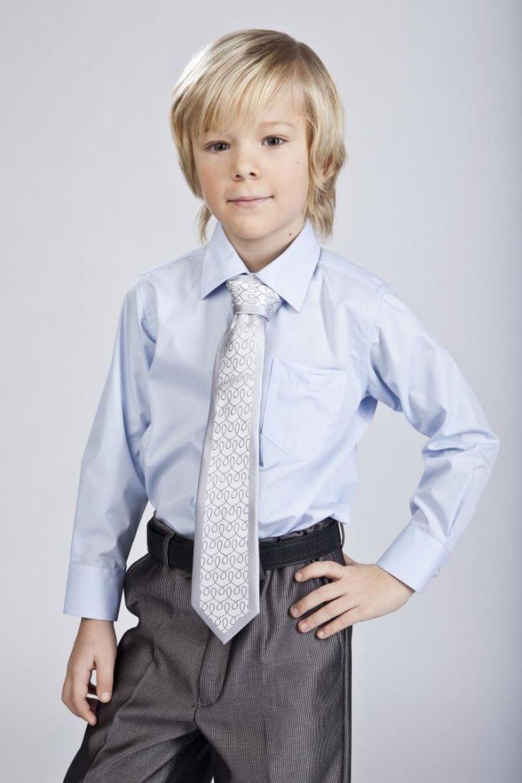 Рубашка для мальчика Голубая