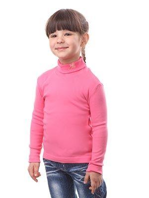 Джемпер для девочки Розовая водолазка