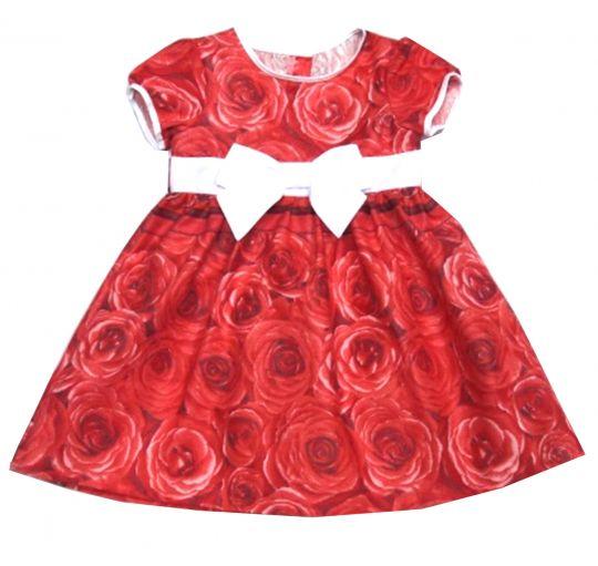 Летнее платье для девочки Цветы
