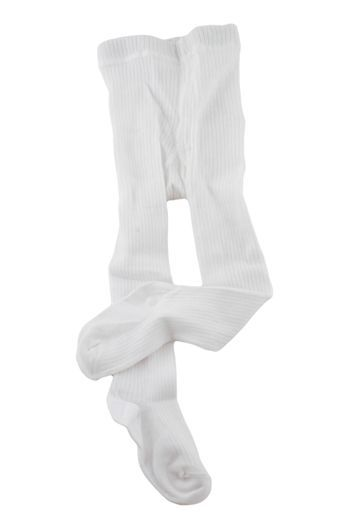Колготки хлопковые, белые (Размер: 110)