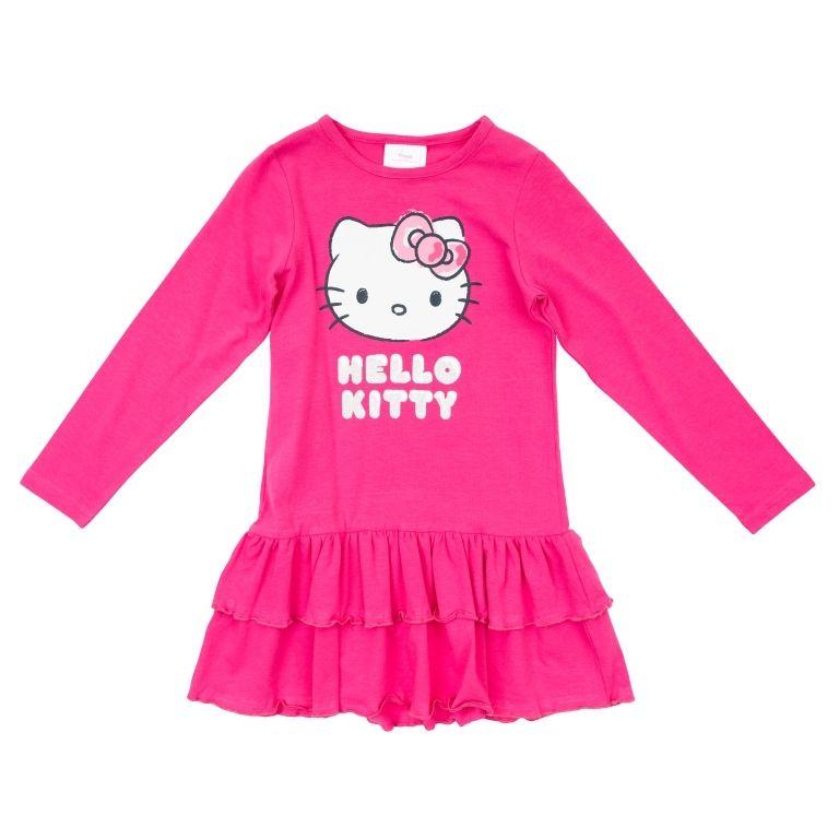 Малиновое платье HelloKitty