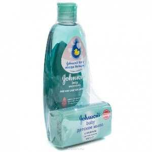 Шампунь Johnsons baby + мыло в подарок