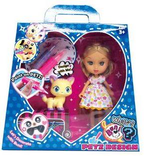 Кукла Buni украшает животных