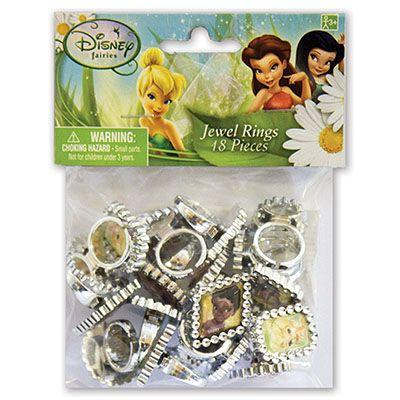 Колечки Disney Феи, 18 штук