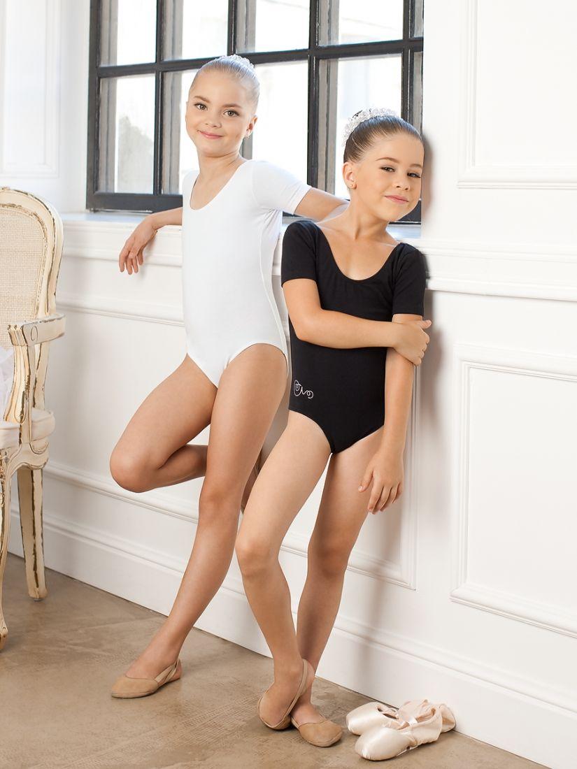 Черный купальник для девочек 4-5 лет