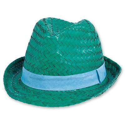 Шляпа соломенная Модная зеленая