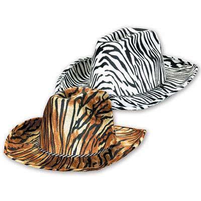 Шляпа фетр Сафари ковбойская ассорти