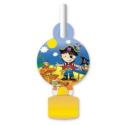 Язык-гудок Маленький пират, 6 штук
