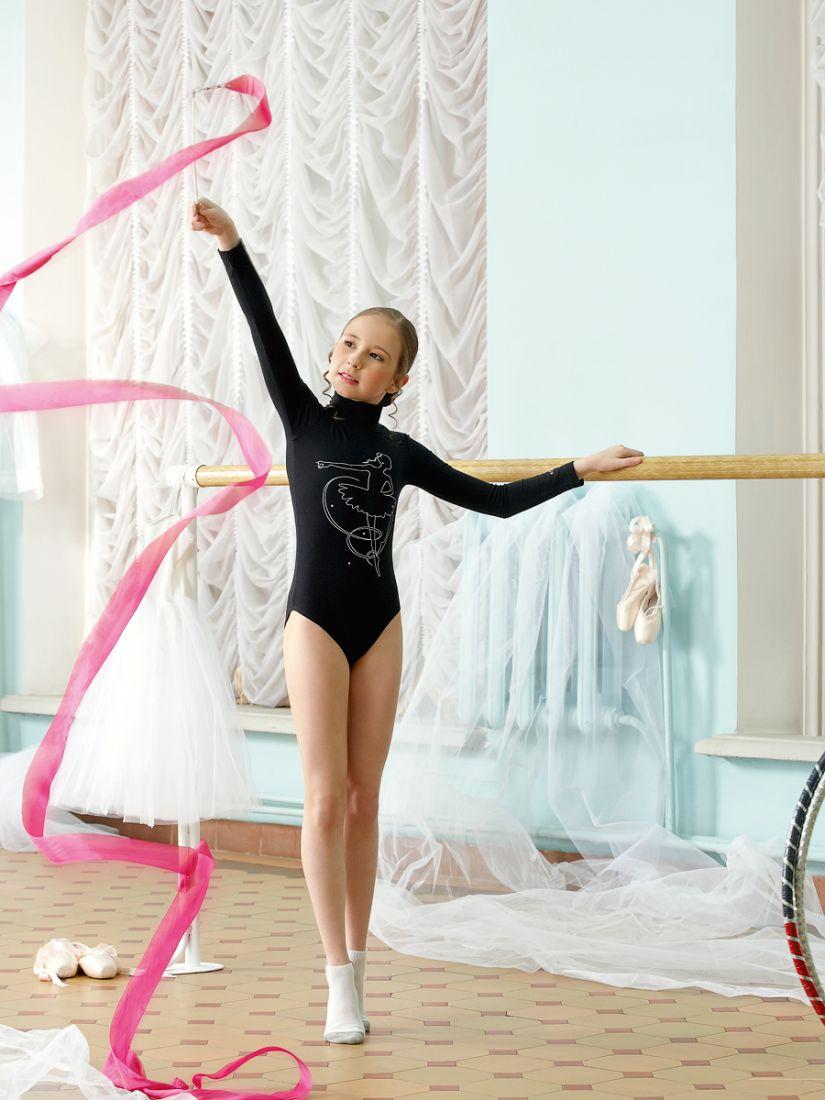 Спортивное боди для девочек 4-5 лет