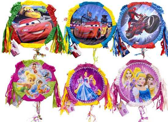 Пиньята Disney с лентами