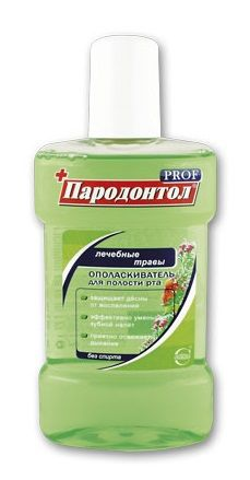 Ополаскиватель Пародонтол PROF Лечебные травы
