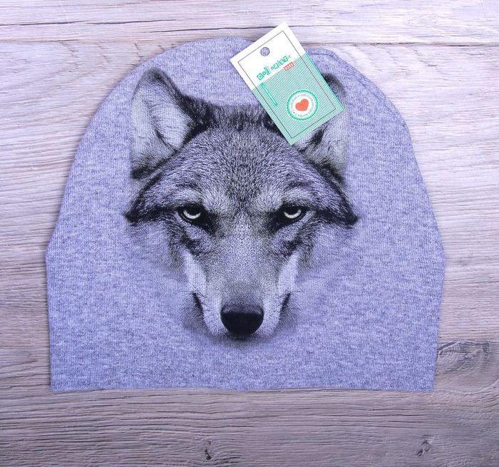 Детская шапочка Волк