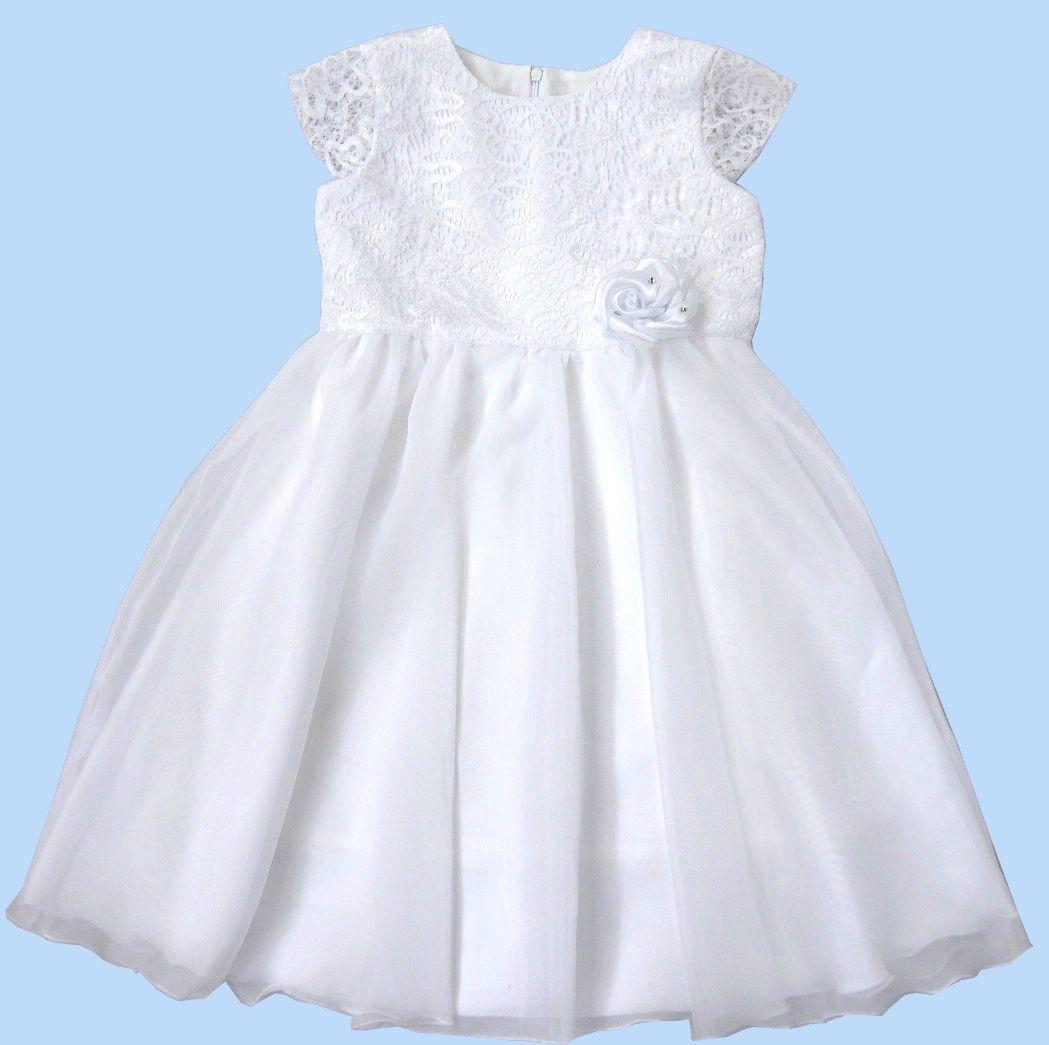 Платье нарядное для девочки Снежинка