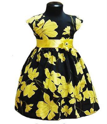 Платье хлопковое Яркие цветы