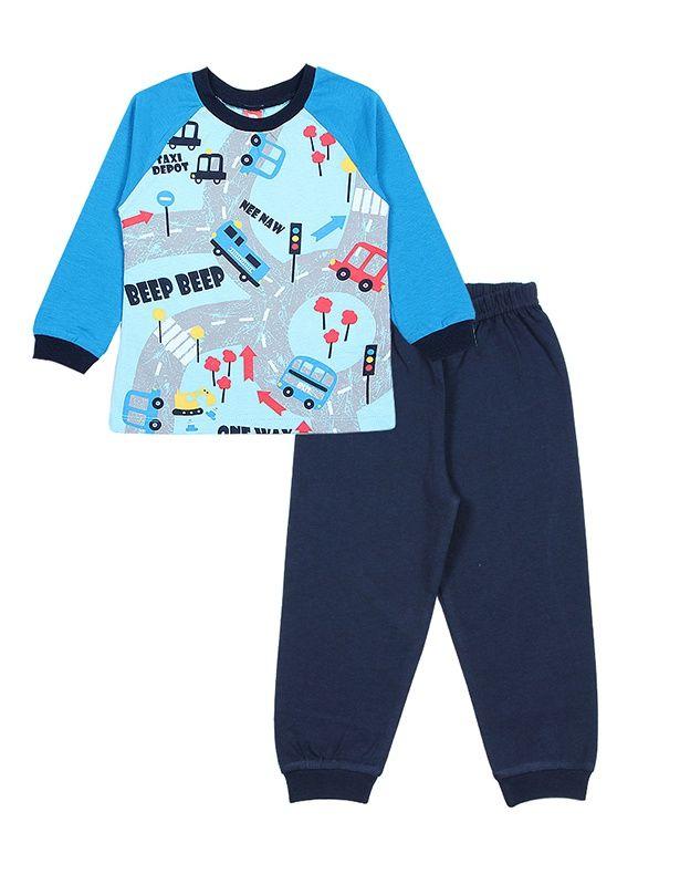 Пижама для мальчика Правила движения