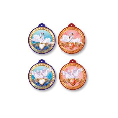 Медали свадебные Классика, ассорти, 9 шт