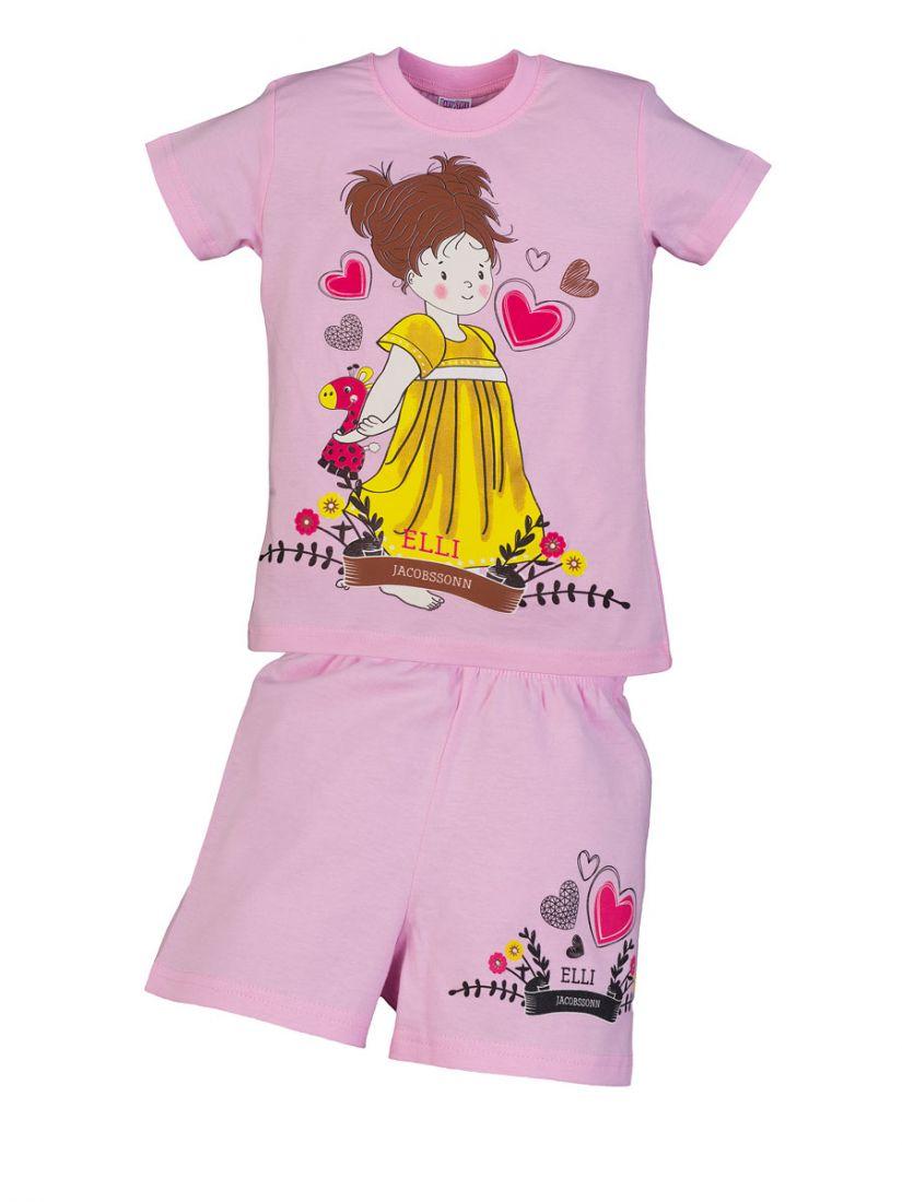 Розовый комплект для девочки Elli