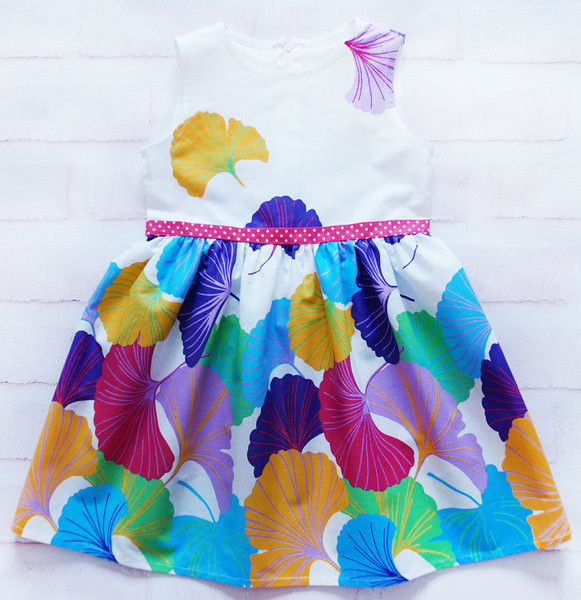 Платье для девочки Акварель