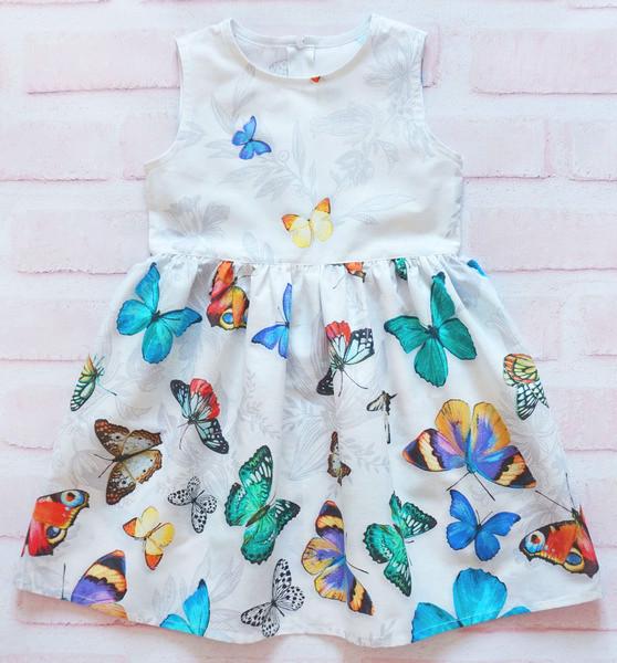 Платье для девочки Тропические бабочки