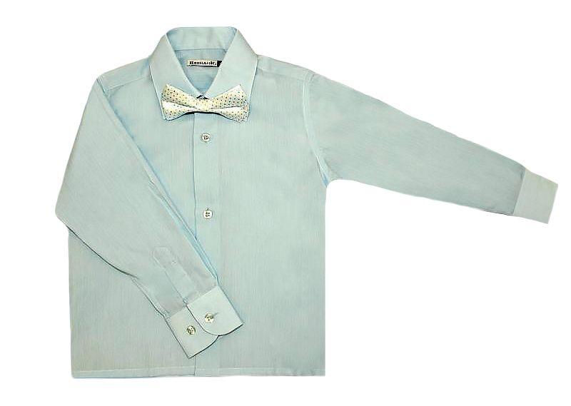 Бирюзовая рубашка Изящная простота