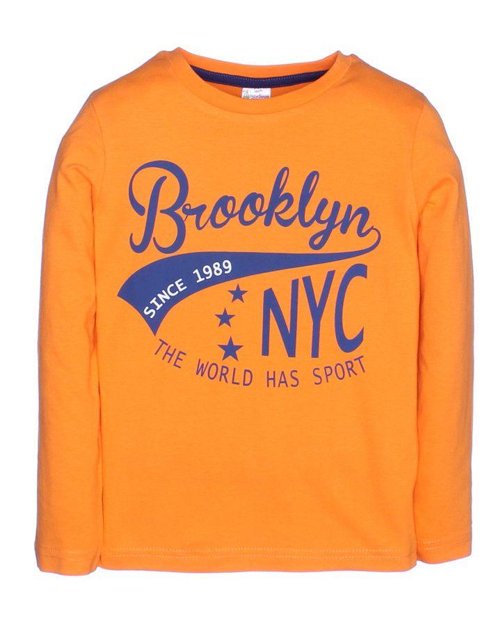 Лонгсливы для мальчиков Brooklyn